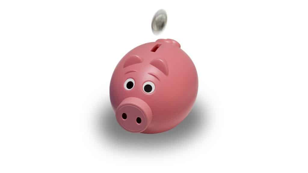 piggy bank saving for retirement