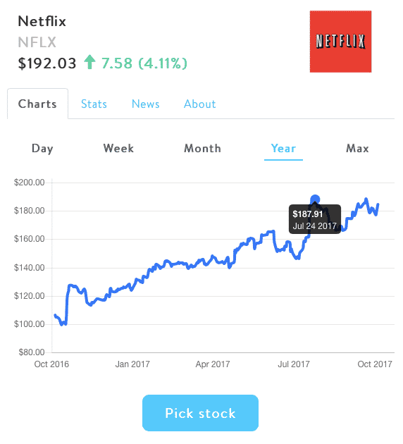 stockpile pick netflix