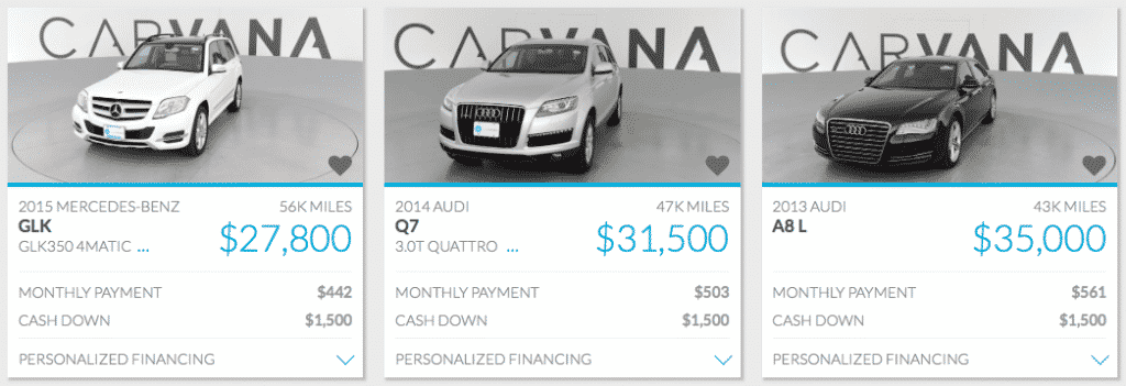 Rise Loans Reviews >> Carvana Review 2017 - Financing For Used Cars | InvestorMint