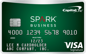 capital one spark business green