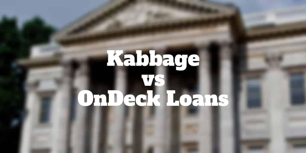 kabbage vs ondeck loans