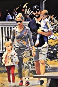 john krasinski and family