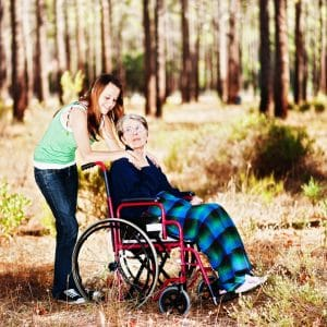 caregiver live rent free